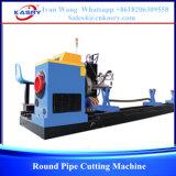 Machine ronde de tailler et de découpage de pipe de commande numérique par ordinateur
