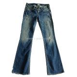 Corte y costura Inicio Jeans vaqueros vaqueros de corte de prendas de vestir