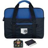 Messenger lona ecológica personalizada bolsa para portátil con correa desmontable