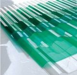 polycarbonaat 100% van 840mm Maagdelijk Materialen GolfBlad Gekleurd van de Bescherming van het Dak van de Bouw Bayer Materieel UV PC- Blad