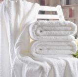 Полотенце цвета горячих сбываний белое для гостиницы (DPFT8029)