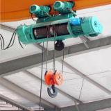 Подъем веревочки провода, электрическая лебедка, кран подъема
