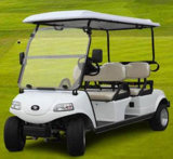 Электрические автомобиль/тележка/багги гольфа, Sightseeing автомобиль, внедорожник (DEL3042G, 4-Seater)