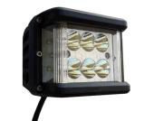 """EMC aprobado de 3,9"""" 60W de 120 grados haz inundaciones Dually Shooter lateral luces cubo LED"""