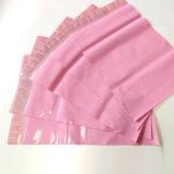 Beutel-Polyeilbote-Werbungen der rosafarbenen Plastikverpackungs-10*13ins sendende