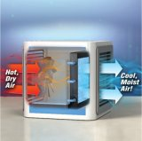 Пространство охладителя нагнетаемого воздуха вентилятора системы охлаждения для настольных ПК для управления