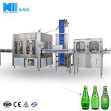 外堡のモルトの飲料レモン味の飲み物のための自動ガラスビン洗浄の満ちるキャッピング機械