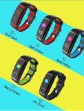 Band van het Scherm van de Kleur van het Horloge van de Bloeddruk van de Drijver van de Monitor van de Slaap van de Band van het Tarief van het Hart van de Armband van de geschiktheid CD09 de Slimme Slimme Slimme versus Mi Band 3