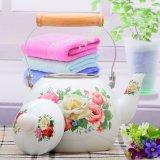 Colorida silbido elegante jarra esmalte adhesivo/Tetera