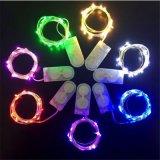 À prova de água colorida Decoração de Natal Contos de corda de faixa de luz LED de String