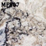Steen van de Mengeling van het Bouwmateriaal de Zwarte Witte Marmeren Kunstmatige voor Countertops