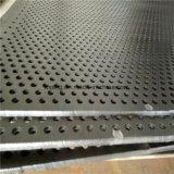 Azulejos de techo acústico perforado a prueba de sonido de la placa de metal perforado/hoja
