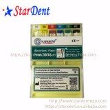Deantal Original Gapadent codificadas por cores de papel absorvente (ponto 04.06) / Profundidade do cone mm marcado