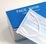Ce/ISO13485/Cfda сертифицированных спанбонд одноразовые 3-слойные Earloop хирургических маску для больницы