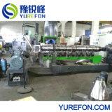 Faites-en-Chine double stade de l'extrudeuse unique pour le recyclage de plastique sale