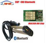 2018 Nuevo año 2015. Cdp de Oro de la versión R1 de Oki OKI B6636M (Chip) +Bluetooth para coche&Camiones 3 en 1 CDP PRO Auto Diagnostic-Tool OBD2