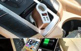 Distribuidor mayorista de un enchufe adaptador de mechero de coche portátil Dual USB Car Charger for iPhone