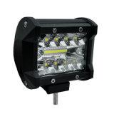 accessorio 4X4 fuori dalla barra chiara della lampada LED del lavoro del camion della strada 18W 60W