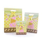Свадебные конфеты подарочный бумажный мешок с лентой (YH-PGB117)