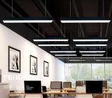 Proyecto Hotel araña de luces LED rectangular de la luz colgante