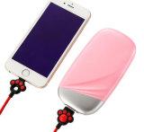 La moda de luz LED de 6000mAh cargador de teléfono móvil Banco de potencia