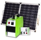 小さい世帯アプリケーションの携帯用太陽エネルギーシステム150With300With500W太陽充電器