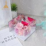 En acrylique transparent Rose Boîte ensemble cadeau de Noël