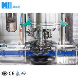 Lineare waschende füllende mit einer Kappe bedeckende Füllmaschine des Wasser-Zcf12-12-1