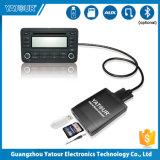Coche MP3 Yatour cambiador de CD de música en el conector del coche de Toyota para el iPhone