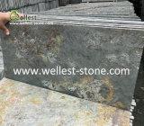自然なStone Rusty SlateかMulti Color、Random Stone Paving、Slate Tile
