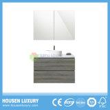 2018 Banheira de venda montado na parede de PVC ou de material MDF Australia-Style armário de banheiro Auw223