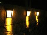 6 LED de energía solar Luz Nocturna Waterproof Ruta Jardín Lámpara de luz de pared