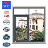 BSの証明書FwVA003が付いている60分の微分時間の熱絶縁体の固定ガラス火の評価される鋼鉄Windows