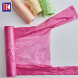 preço de fábrica cor múltiplos T Shirt descartáveis saco de lixo