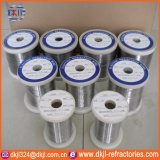 0.06-10mm resistência de aquecimento eléctrico Nicrómio Cr20Ni80 Fio