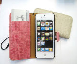Крокодил дизайн Flip Wallet чехол для iPhone5 (КЕ5-003)