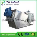 Automatischer Klärschlamm-entwässernmaschine für das Leder, das Abwasser bildet