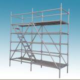 Alta qualidade de andaimes de conjunto do sistema da construção de aço do fechamento