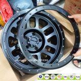 Cerchioni fuori strada di alluminio della lega dei ricambi auto 4*4 con gli anelli