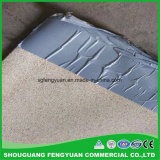 Non membrane pré appliquée imperméable à l'eau de membrane de HDPE de bitume