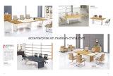 現代会議室の家具のメラミン上のオフィスの会合表