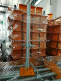Base réglable de Jack de vis pour l'échafaudage/base principale galvanisée de Jack d'échafaudage d'U