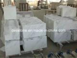 El material de construcción piedra natural de mármol blanco (DES-MT009)