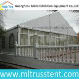 barraca de vidro de 10X18m Familiy para a cerimónia de casamento ao ar livre