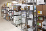 Cremalheira do Shelving do fio de metal do cromo das séries do NSF 6 para Hospital&Drugstore