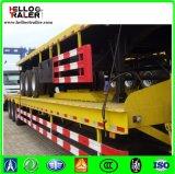 3 Aanhangwagen van de Container van de Aanhangwagen van de Container van assen 40FT de Semi Flatbed