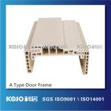 Cadre de porte respectueux de l'environnement du matériau WPC d'OEM/ODM pour la salle de bains de chambre à coucher (PM-100A)