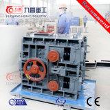 Maquinaria para la trituración de piedra de la roca trituradora de tres cilindros