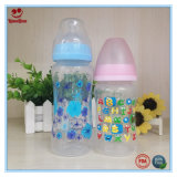8 унции/10oz пластиковые бутылочка молока для грудных детей и при печати