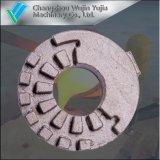 Отливка песка сердечника песка глины высокой точности с подвергать механической обработке CNC